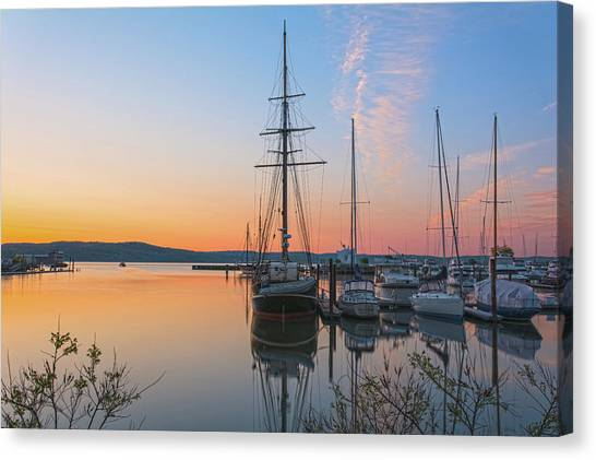 At Rest At Dawn Canvas Print