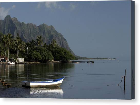 At Rest, Oahu Canvas Print