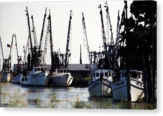 Canvas Print - At Rest Watercolor by Michael Morrison