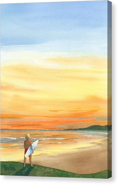 At Sunset Canvas Print by Ray Cole