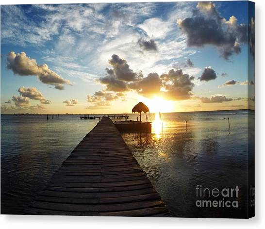 At The End Of Paradise Canvas Print