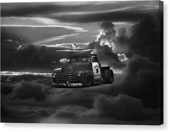 Canvas Print - At The Gates Of Valhalla by Daniel Furon