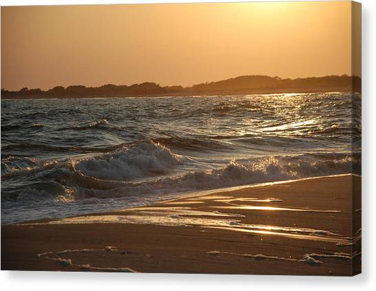 At The Golden Hour Canvas Print