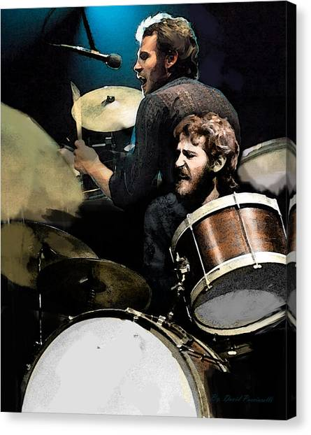 The Helm  Levon Helm  Canvas Print