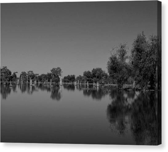 Atchafalaya Basin Canvas Print - Atchafalaya Basin 15 by Maggy Marsh