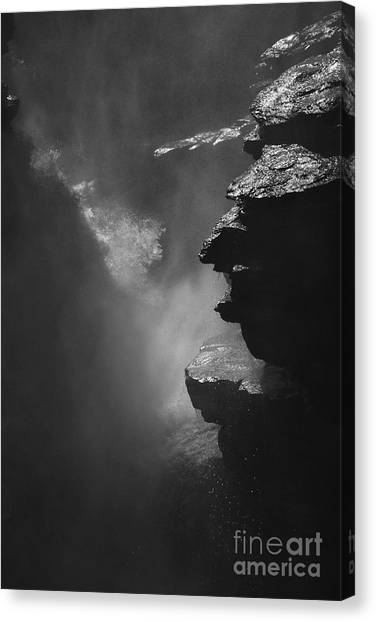 Athabasca Falls Canvas Print - Athabasca Falls by Hideaki Sakurai