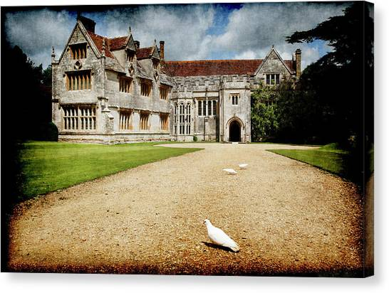 Athelhamptom Manor House Canvas Print
