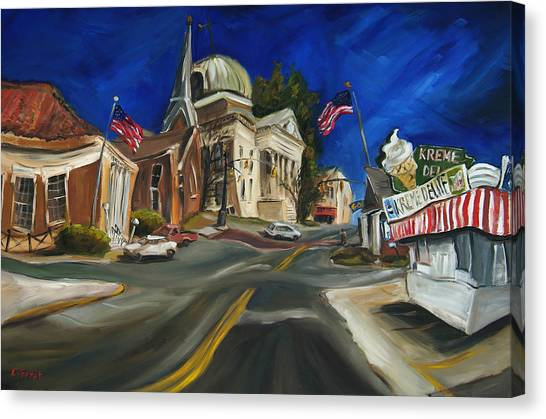 Athens Canvas Print - Athens Al by Carole Foret