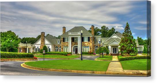 Aac Canvas Print - Atlanta Athletic Club Johns Creek Georgia Golf Art by Reid Callaway