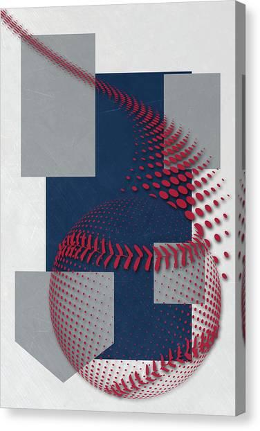 Atlanta Braves Canvas Print - Atlanta Braves Art by Joe Hamilton