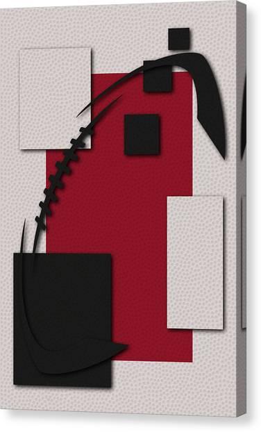 Atlanta Falcons Canvas Print - Atlanta Falcons Football Art by Joe Hamilton