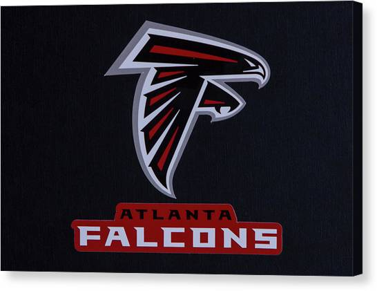 Matt Ryan Canvas Print - Atlanta Falcons Man Cave Atlanta Georgia Art by Reid Callaway