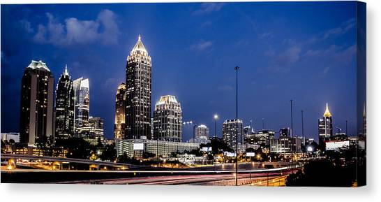 Atlanta Midtown Canvas Print
