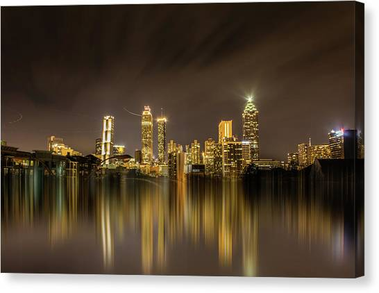 Atlanta Reflection Canvas Print