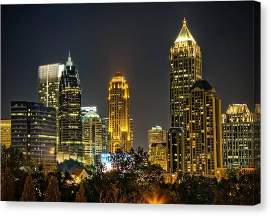 Atlanta Skyscrapers  Canvas Print