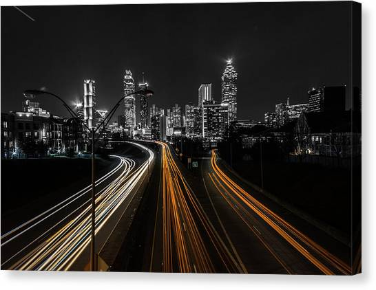 Atlanta Tones Canvas Print