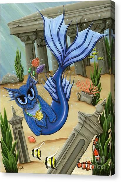 Atlantean Mercat Canvas Print