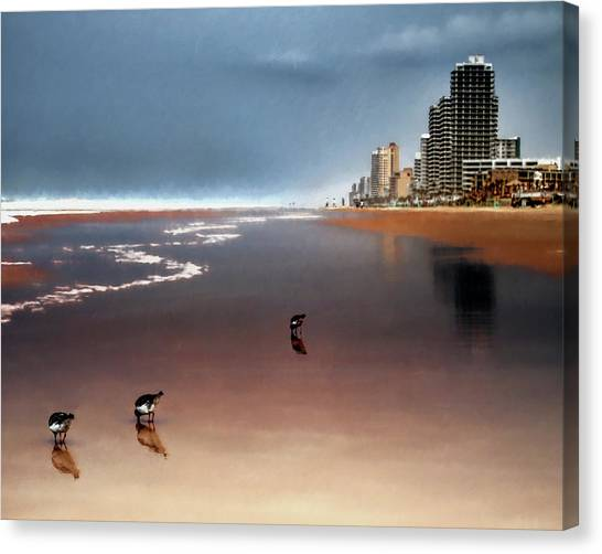 Atlantic Beach Canvas Print