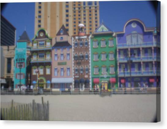 Atlantic City Canvas Print