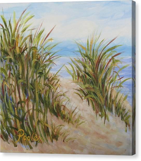 Atlantic Dunes Canvas Print