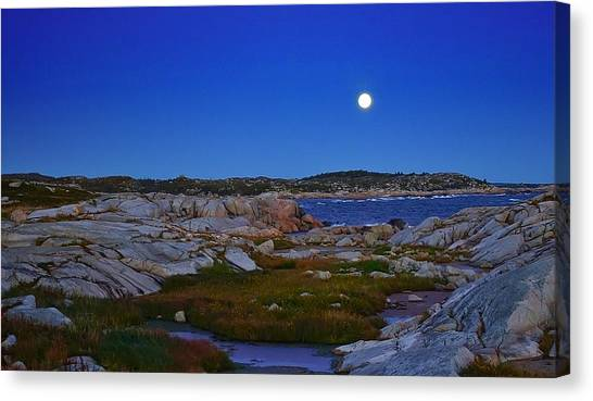 Atlantic Moon  Canvas Print