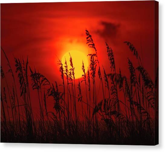 Atlantic Sunrise #2 Canvas Print