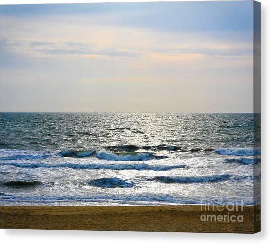 Atlantic Sunrise - Sandbridge Virginia Canvas Print