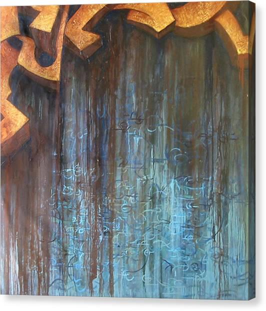 Atlantis Canvas Print by Monica James