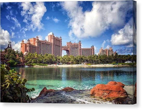 Atlantis Canvas Print - Atlantis Resort - Paradise Island -  - Bahamas by Jon Berghoff