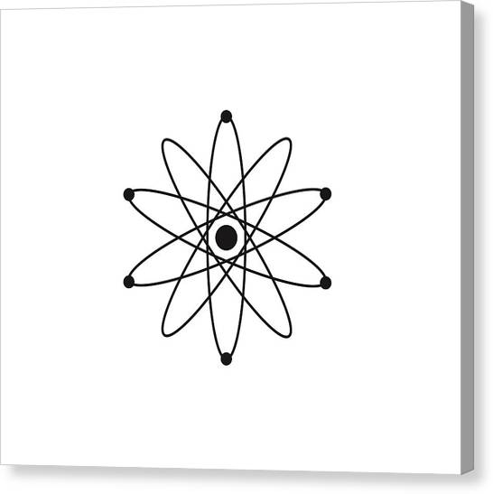 Biology Canvas Print - Atom by Atom