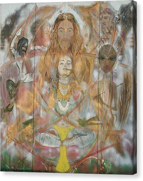 Atom  Brahm Canvas Print