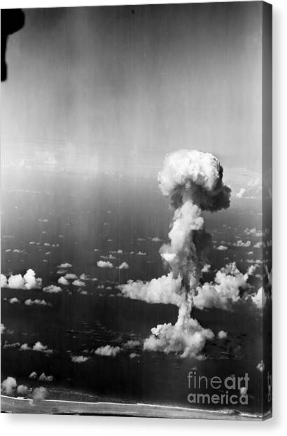 Cold War Canvas Print - Atomic Bomb Test, 1946 - To License For Professional Use Visit Granger.com by Granger