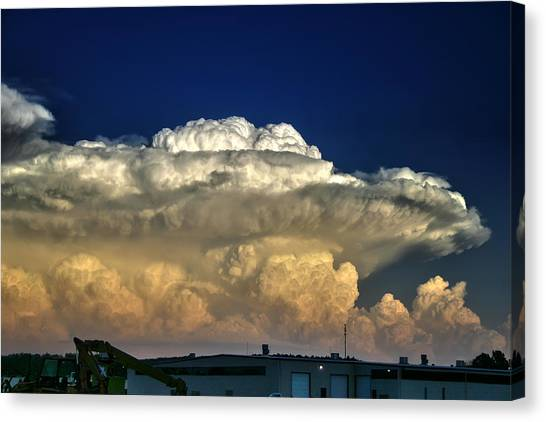 Atomic Supercell Canvas Print