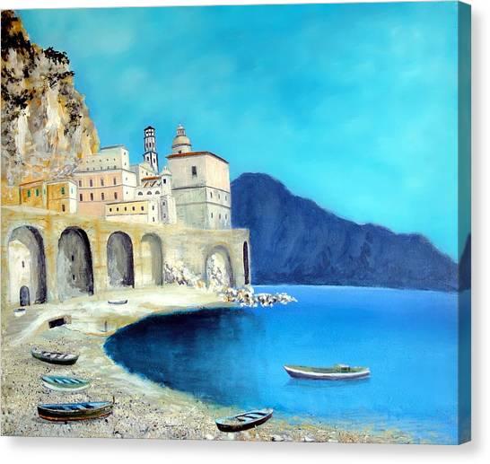 Atrani Italy Canvas Print