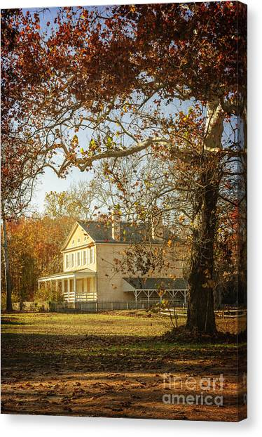 Atsion Mansion Canvas Print