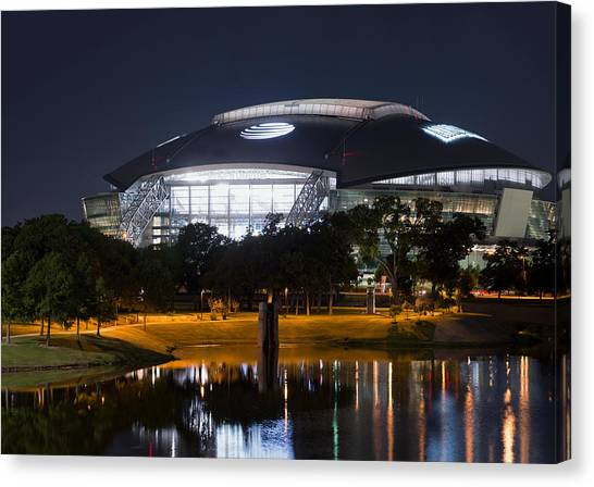 Dallas Cowboys Stadium 1016 Canvas Print