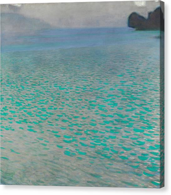 Ocean Cliffs Canvas Print - Attersee by Gustav Klimt