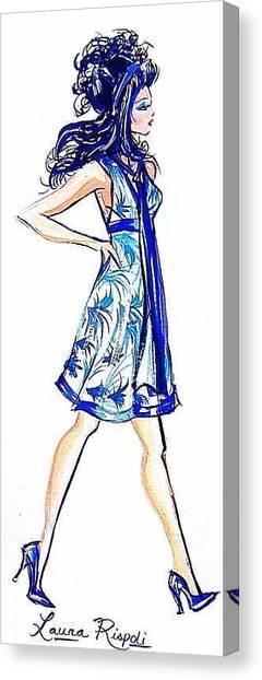 Attitude Canvas Print by Laura Rispoli
