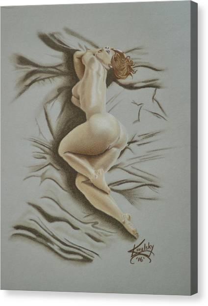 Au Naturel Canvas Print
