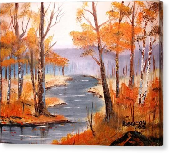 Auburn Forest Canvas Print