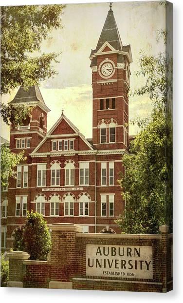 Cam Newton Canvas Print - Auburn University - #1 by Stephen Stookey