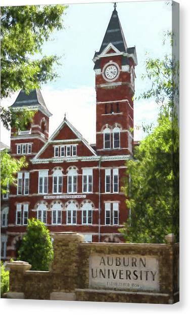 Cam Newton Canvas Print - Auburn University - #2 by Stephen Stookey