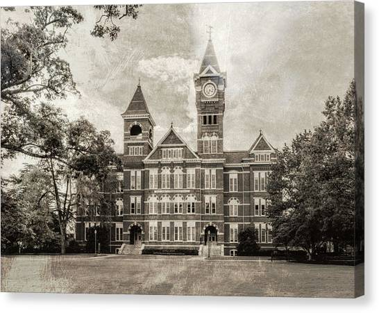 Auburn University Canvas Print - Auburn University Samford Hall - #4 by Stephen Stookey
