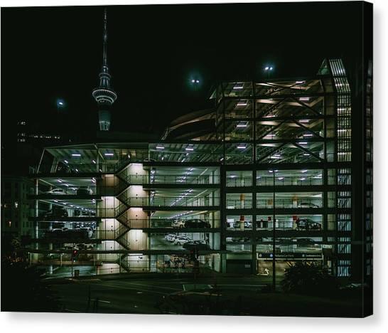 Auckland Nights Canvas Print