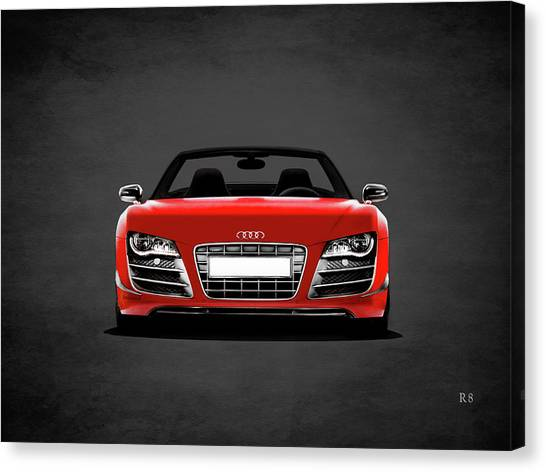 Audi Canvas Print - Audi R8 by Mark Rogan