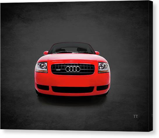 Audi Canvas Print - Audi Tt Quattro by Mark Rogan