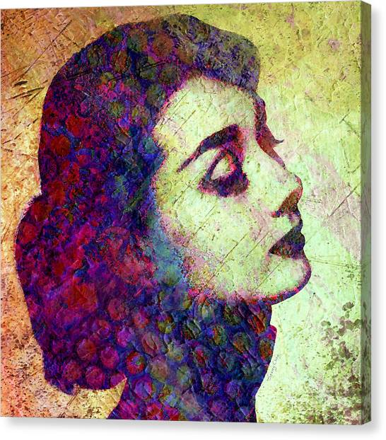 Hepburn Canvas Print - Audrey Hepburn by Stacey Chiew