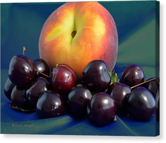August Fruits Canvas Print