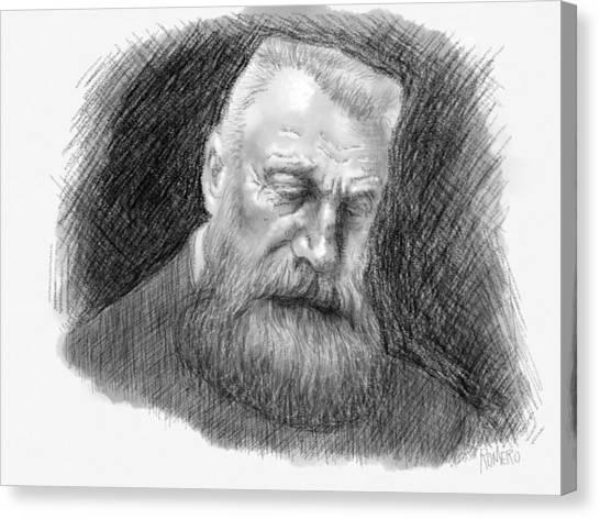 Auguste Rodin Canvas Print