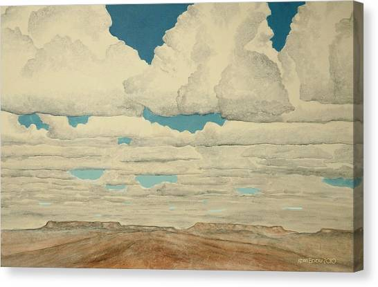 August Sky Canvas Print